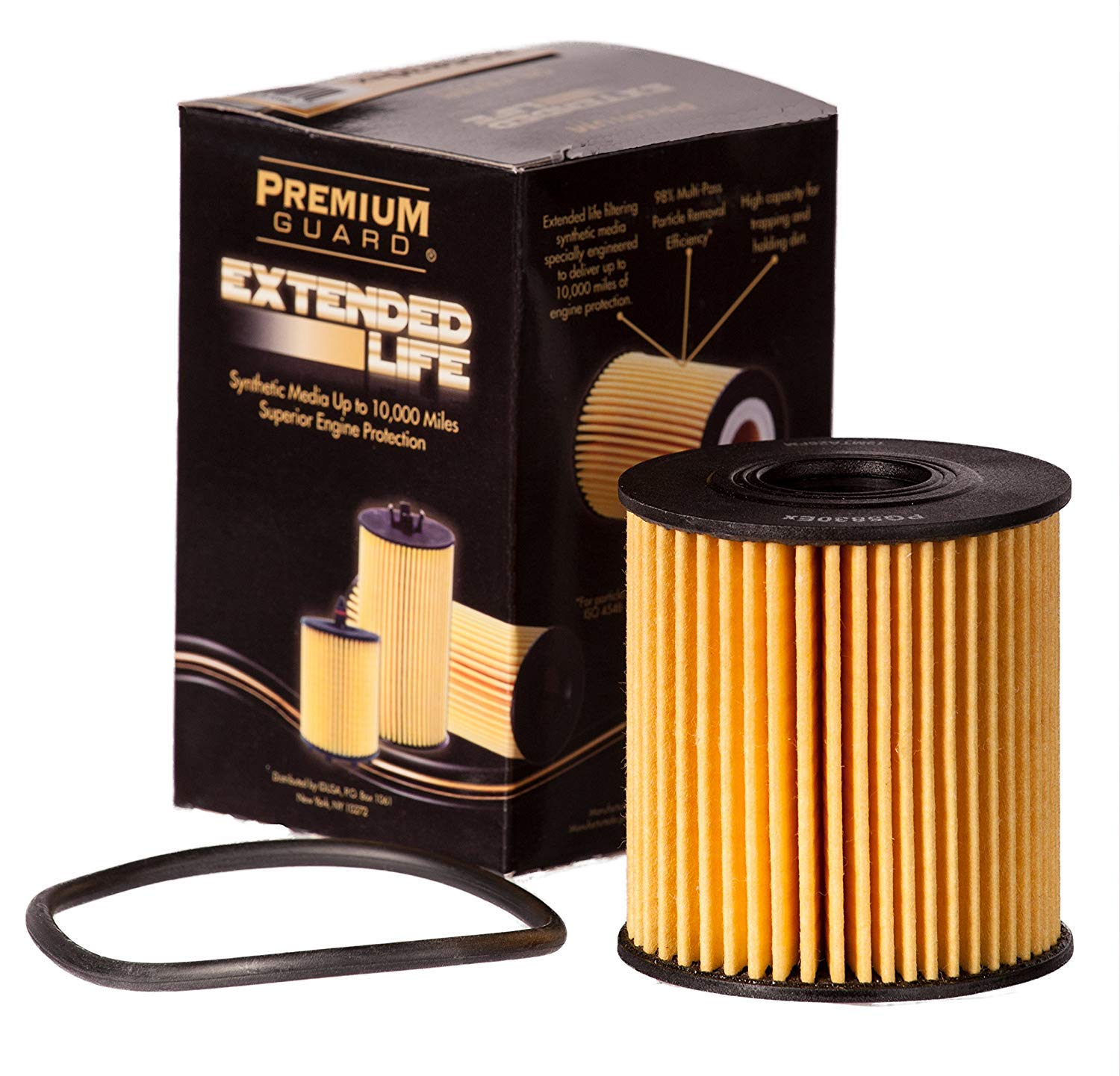 2007-15 Mini Cooper 2011-16 Cooper Countryman 2003-08 307 2008-14 207 PG PG5830EX EXtended Performance Oil Filter Fits 2007-14 Ford Transit 2013-16 Cooper Paceman 2003-09 Peugeot 206