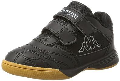 4b8c14d2f Kappa Indoor Kickoff Children's Indoor Shoes Black/Grey 260509K, Shoe  Size:EUR 25
