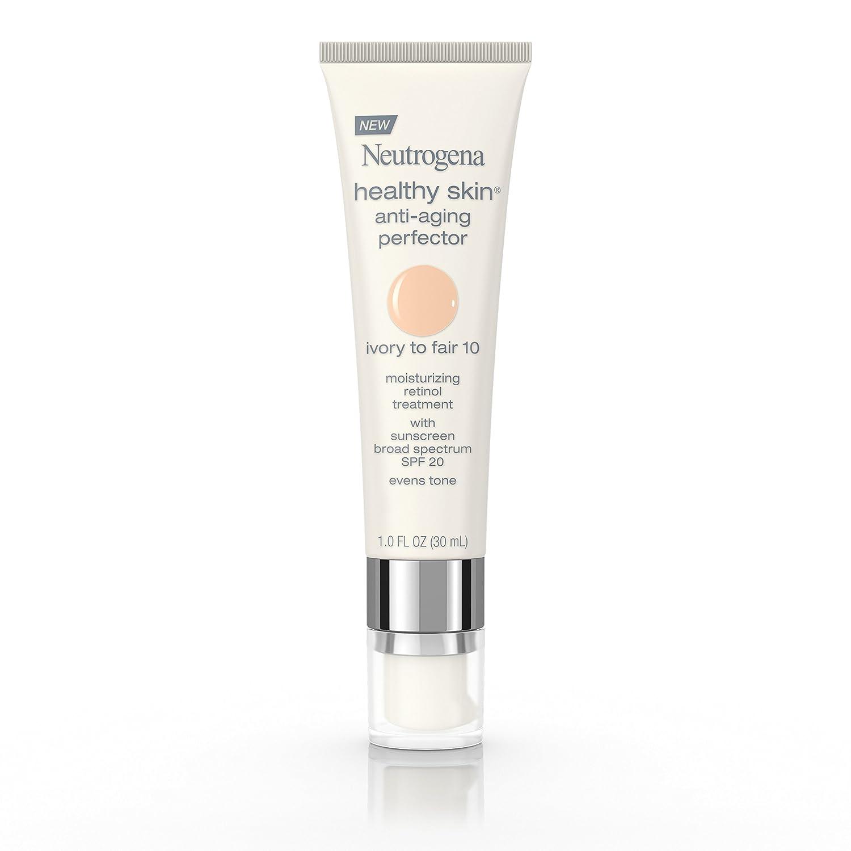 Neutrogena Healthy Skin Anti-Aging Perfector Spf 20, Retinol Treatment, 60 Medium To Deep, 1 Fl. Oz.