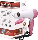 Techsun Mart Professional Folding Hair Dryer Hair 1000W, Multicolor