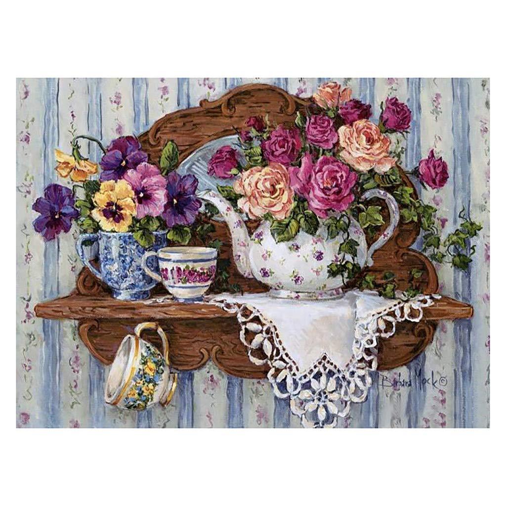 BXzhiri DIY 5D Diamond Painting Kit Cabinet Table Stickers Rhinestone Diamond Embroidery Paintings