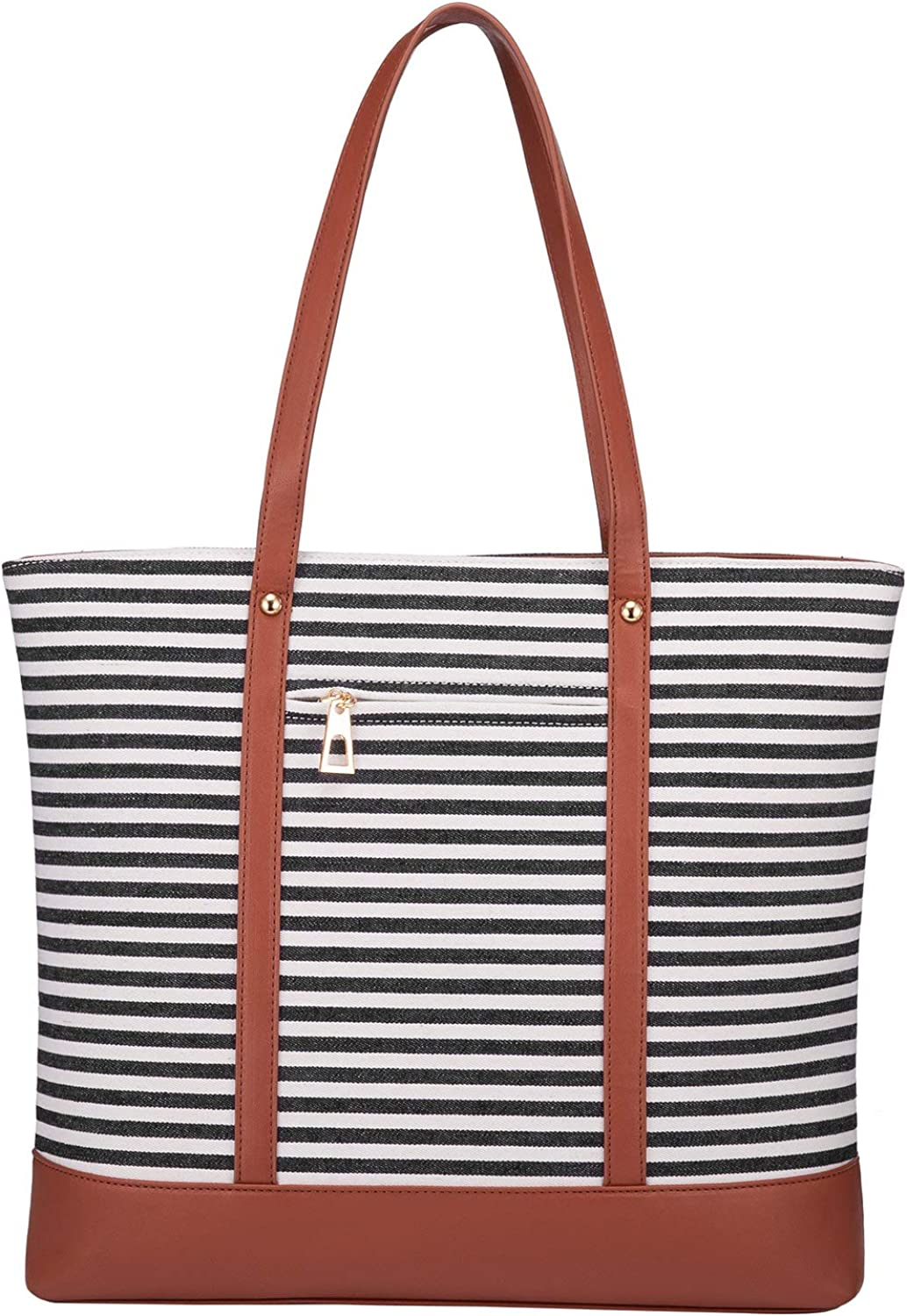 LOVEVOOK Tote Bag for Women Canvas Purses and Handbags Travel and Work Shoulder Bag Beach Top Handle Satchel