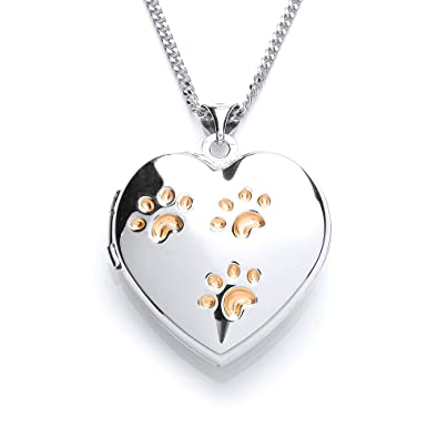 heart locket tendervoices lockets paw diamond print lovetoknow