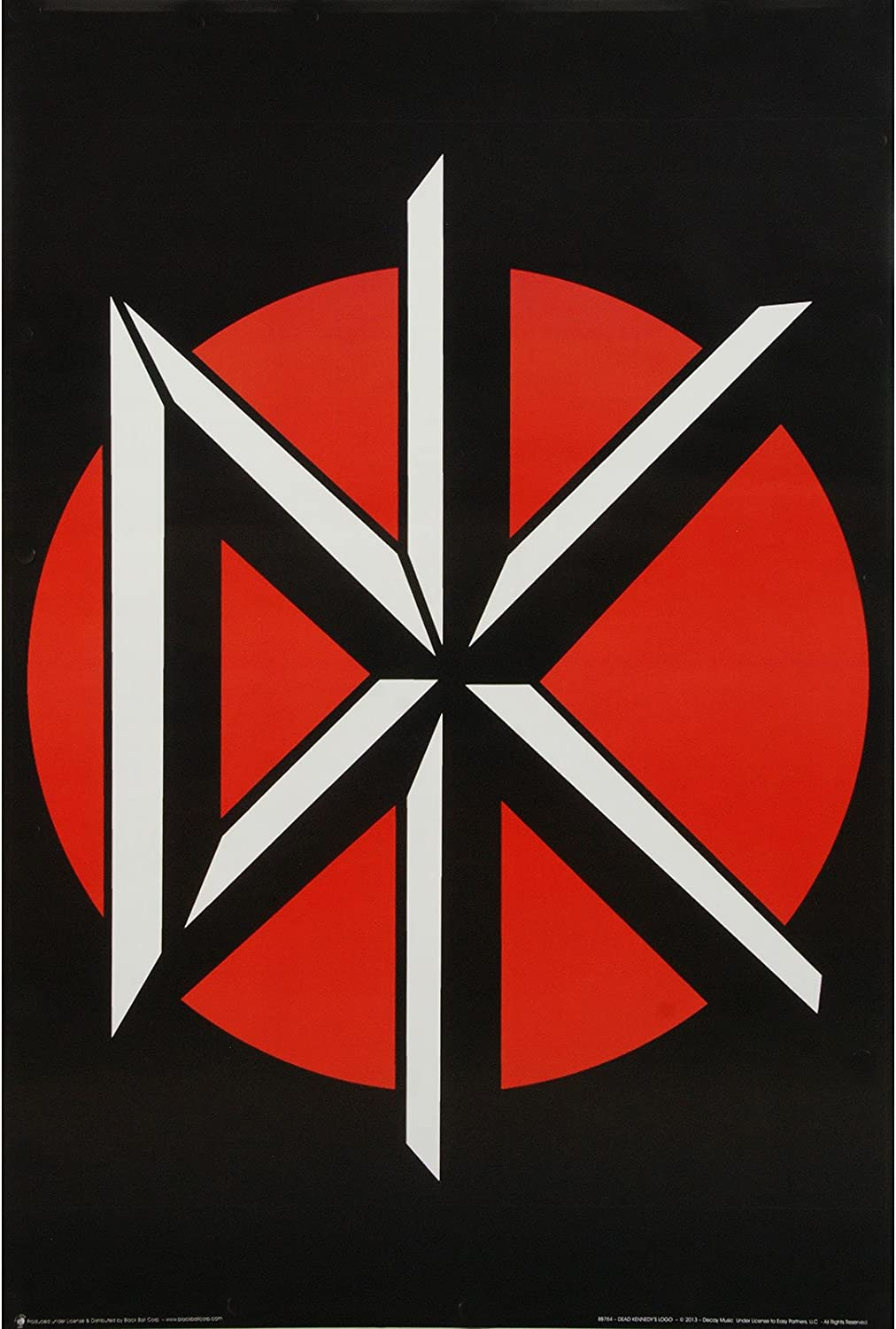 Dead Kennedys Old English DK Logo Poster