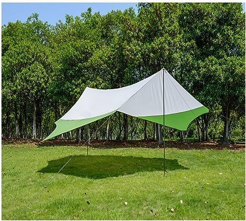 L&Z Toldo para toldo de camping con varillas, ligero ...