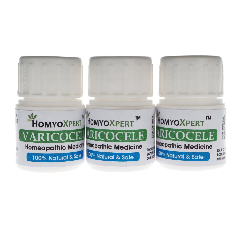 HomyoXpert Varicocele Homeopathic Medicine for One Month by HomyoXpert