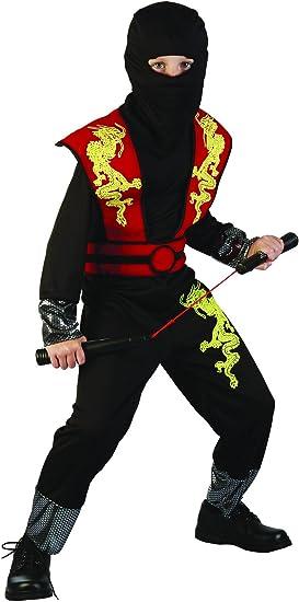 Disfraz ninja niño - 7 - 9 años: Amazon.es: Juguetes y juegos