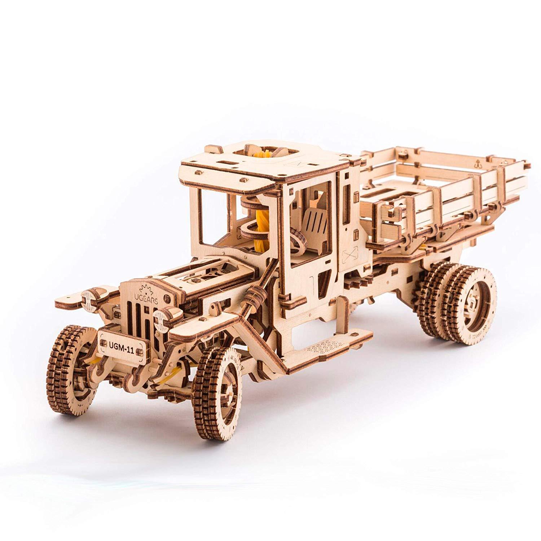 SHU LI - Puzzles de madera 3D para adolescentes y adultos, kit de construcción, modelo mecánico de montaje automático