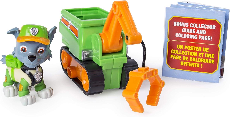 Amazon Com Paw Patrol Ultimate Rescue Rocky S Mini Crane Cart