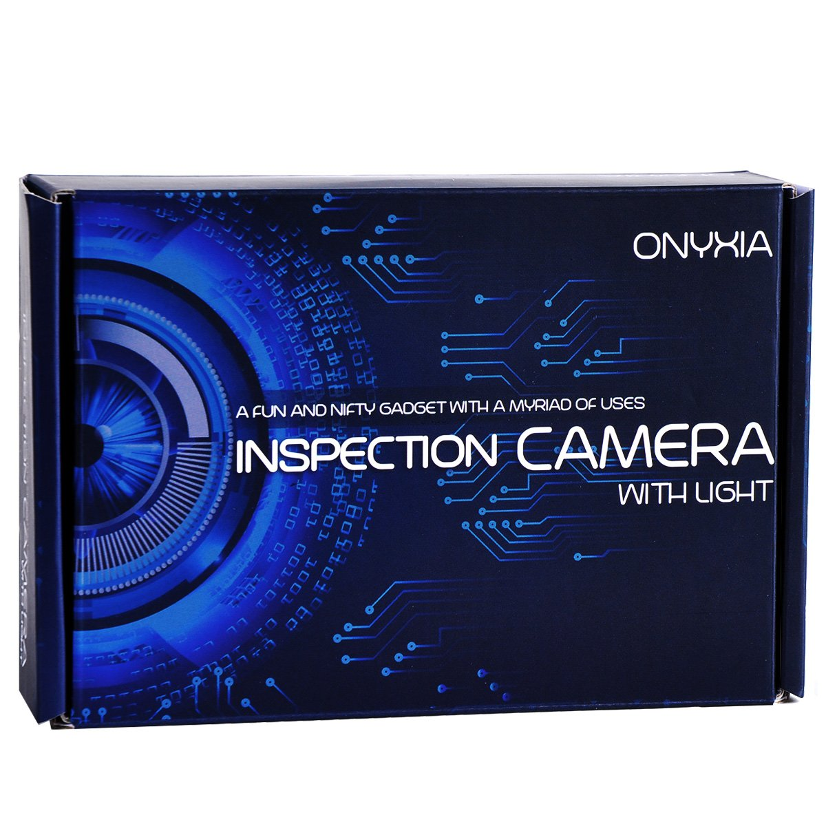 Inspection Camera with Light - Best Endoscope Inspection Camera with Extension Cable - Works with iPhone and Android App - Ideal Waterproof Smartphone Borescope Snake Inspection Camera by Onyxia (Image #8)