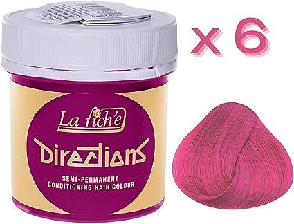 Tinte capilar de La Riche Directions 88ml (Carnation Pink ...