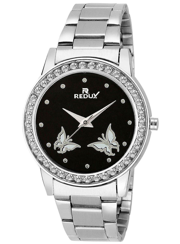 Redux Butterfly Black Dial Girls Watch-RWS0031S