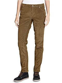 2a8ae24d1d7 Lands  End Women s Petite Mid Rise Straight Leg Corduroy Pants at ...