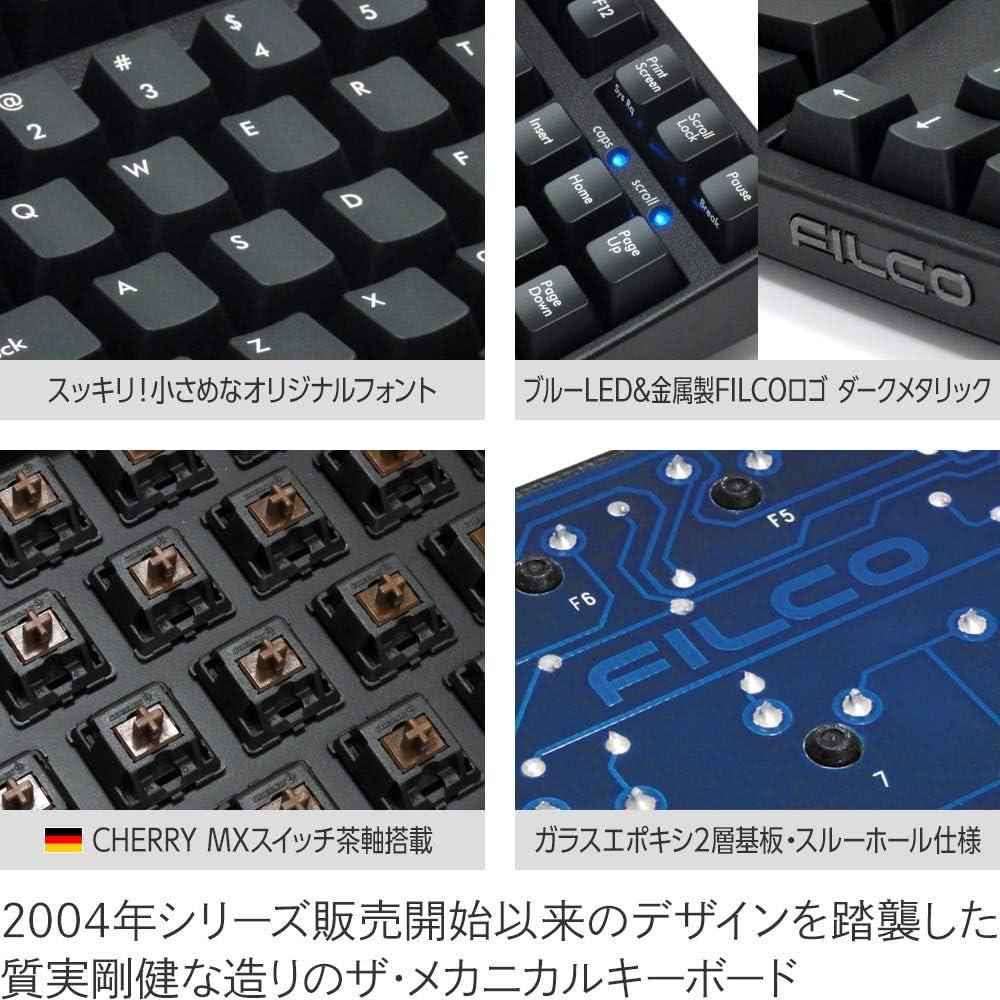 USA Keyboard FKBN87MC//EB2 Tenkeyless NKR Filco Majestouch-2 Click Action