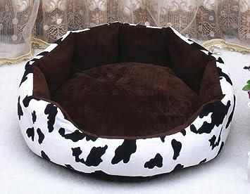 WYXIN Cálido redondo Kennel Perro pequeño Perro mediano Perro Nido Perro Cojín Gatos Cama para perros Alfombrillas y almohadillas para mascotas ...