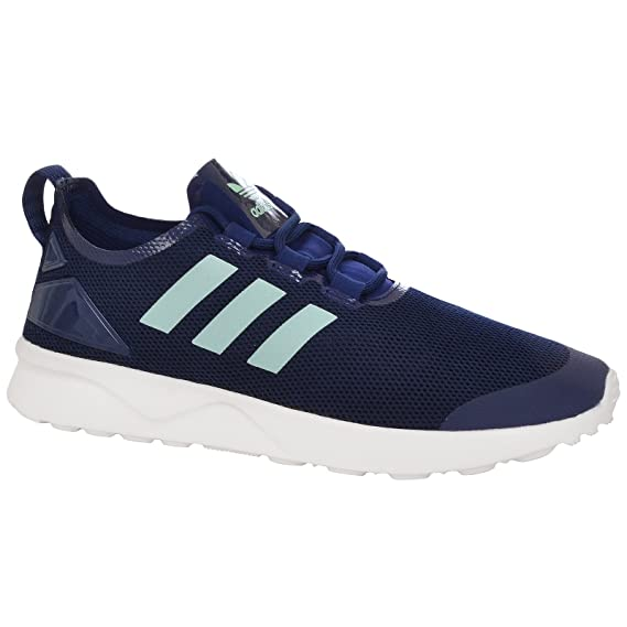 quality design 39897 3a5a9 adidas Originals Womens ZX Flux Adv Verve Gym Shoes - Navy ...