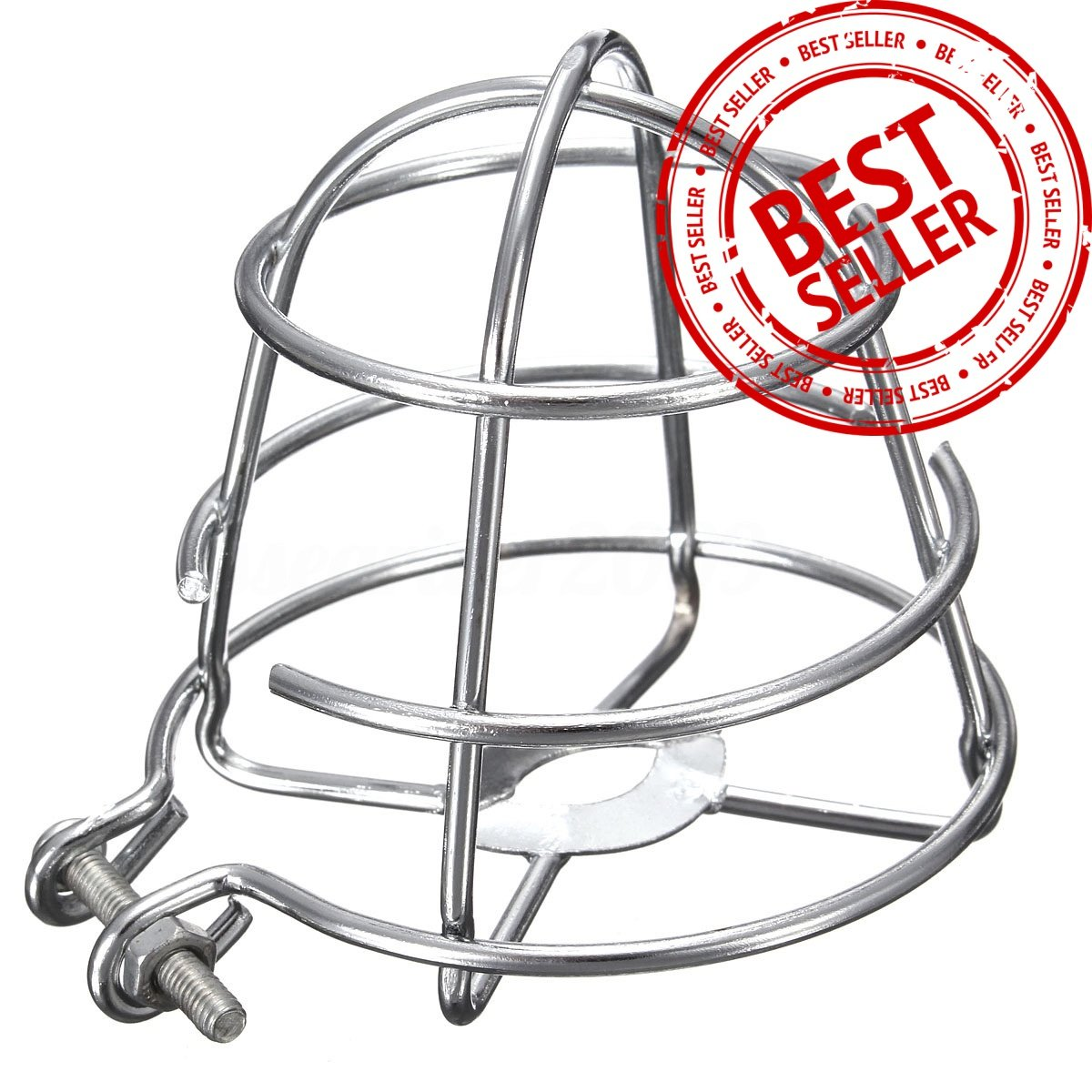 (5 Pack) GREATEST Fire Sprinkler Head Guard Chrome Plated Easy Screw Cover Guard For 1/2'' IPS Heads