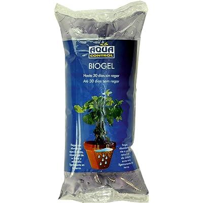Aqua Control Biogel C2140, Agua Sólida para Tus Plantas, Ideal para Riego en Vacaciones, hasta 30 Días sin Regar, 400 ml