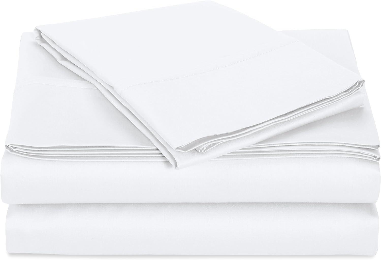 Details about  /Twin XL Size 4 PCs Sheet Set Ultra Pocket Depth Egyptian Cotton Solid Colors