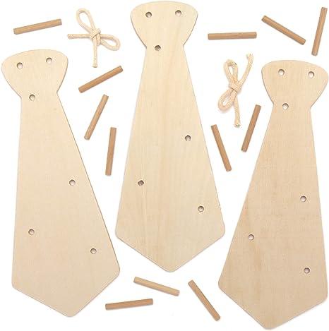 Baker Ross Proyecto de artesanía de llaveros de madera - Ideal ...