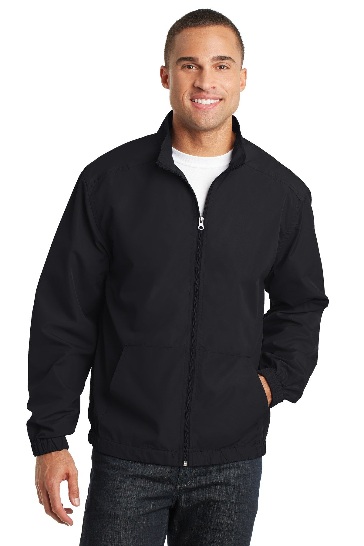 Port Authority Men's Essential Jacket 3XL Black by Port Authority