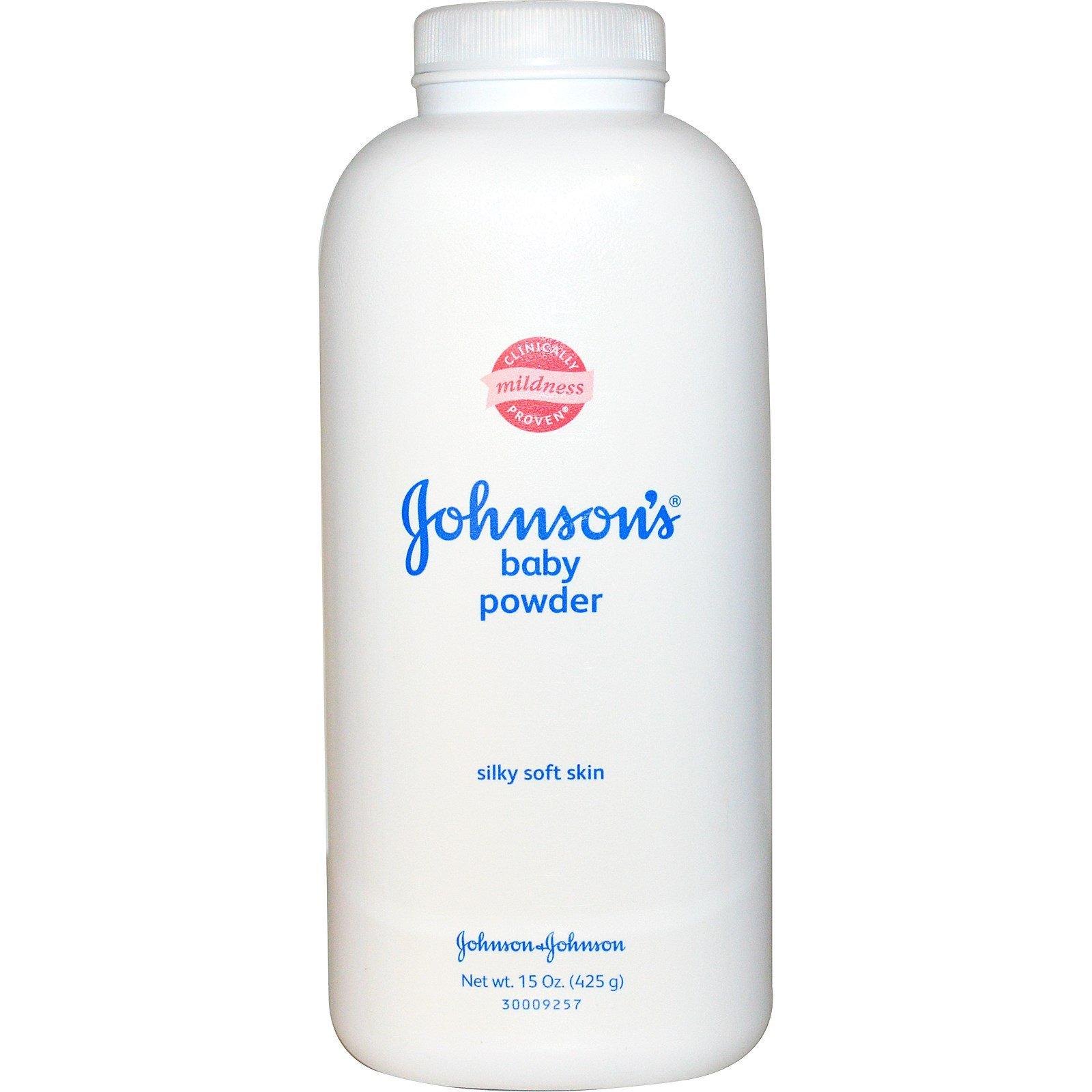 Johnson & Johnson Baby Powder, Helps Eliminate Friction, 15oz by J & J