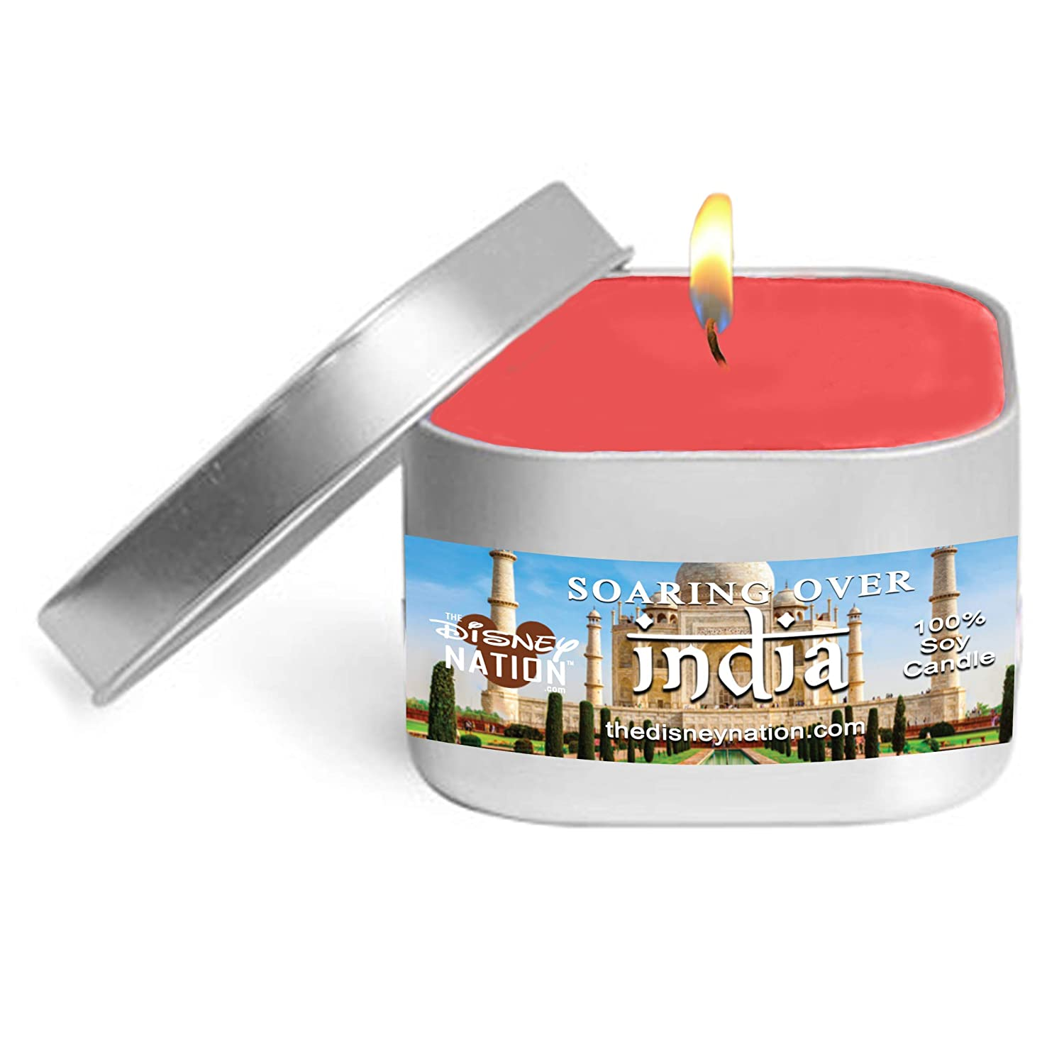 Disney Theme Park Inspired Soy Wax Candle Highly Fragrant Apple Orchard