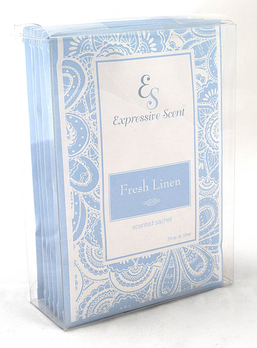 Expressive Scent 6 Pack Fresh Linen Large Scented Sachet Envelope by Expressive Scent (Image #2)