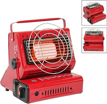 Dream-cool Estufas portátiles de doble uso para acampar al aire libre, mantener caliente, agua hirviendo o cocinar