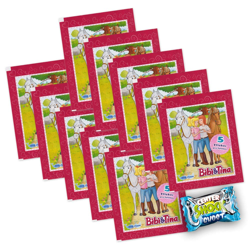 Bibi und Tina Sammelsticker 2019-10 Tüten 50 Sticker