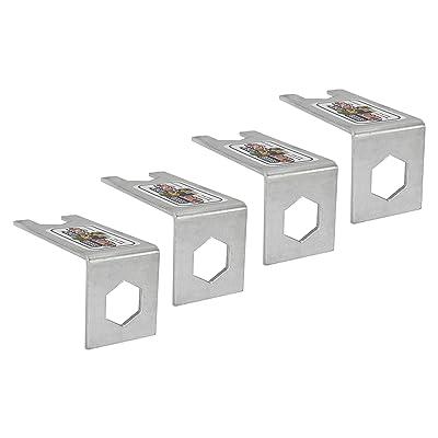 Sizzer Jack Nut Lock | Scissor Jack Stabilizer Lock | RV Scissor Jack Nut Lock: Automotive