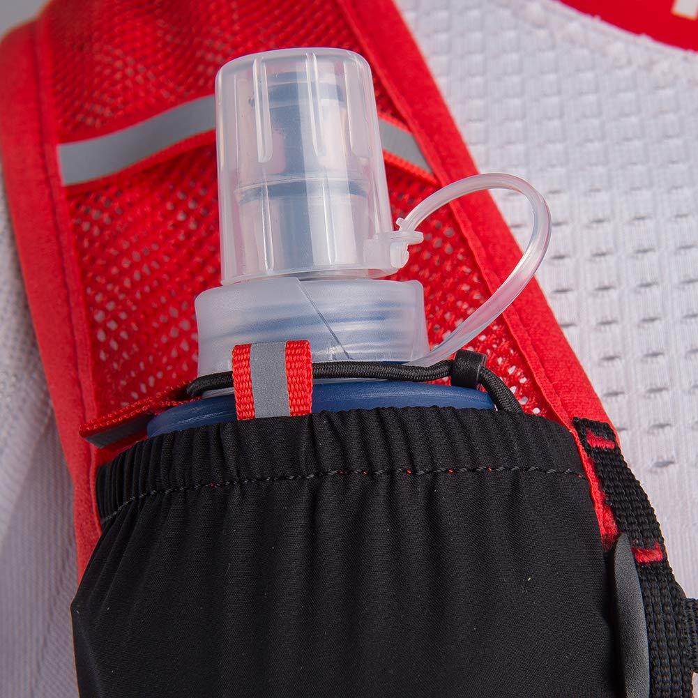 POJNGSN Hydration Pack Backpack Rucksack Bag Vest Harness Water Bladder Hiking Camping Running Race Climbing 5L ML Black 2L Bladder
