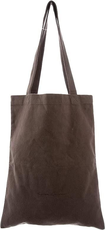 Amazon.com: Rick OWENS - Bolsa de la compra unisex de tela ...