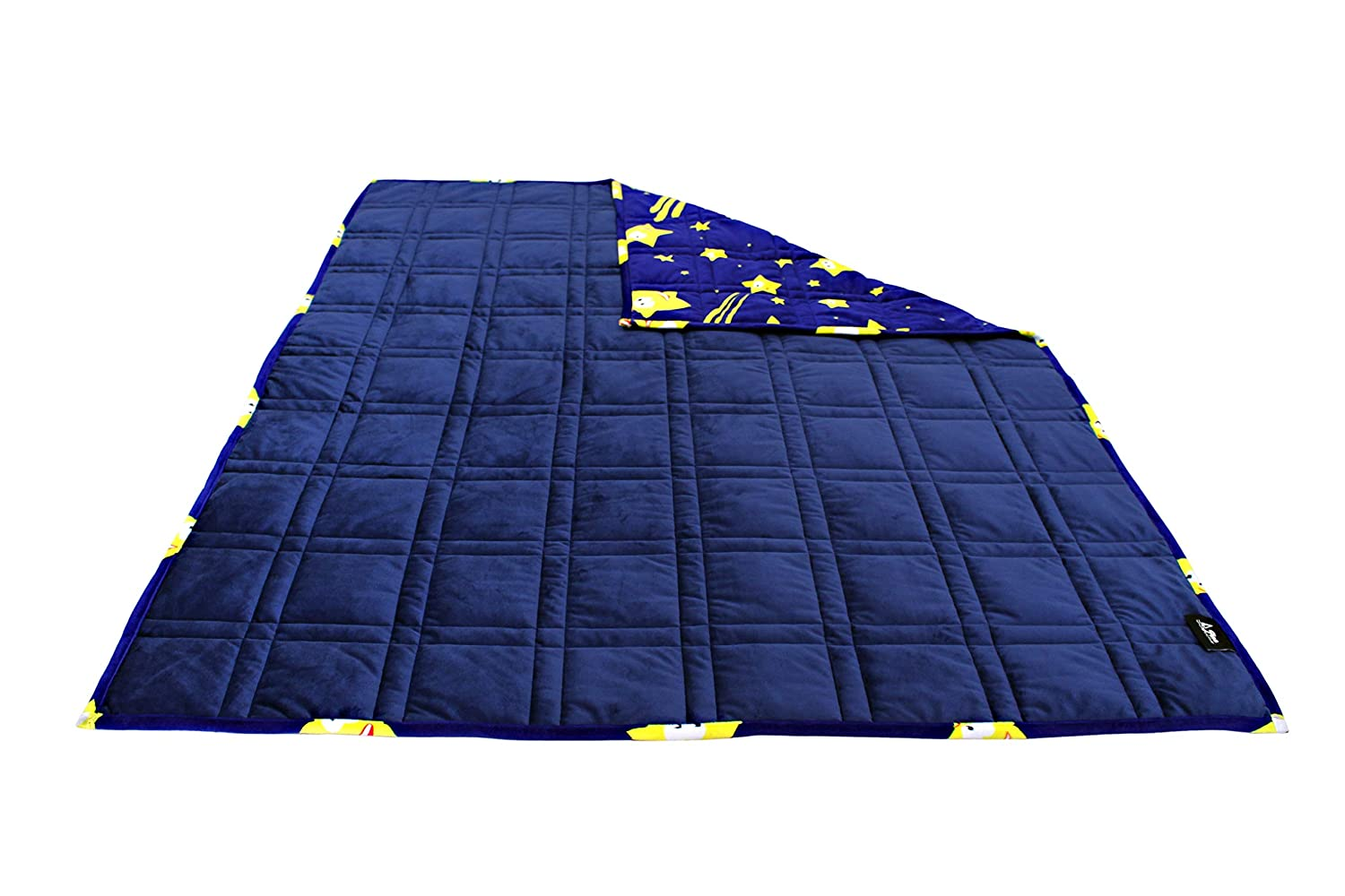 Blue//Blue, 7 Pine and River Ultra Plush Weighted Blanket