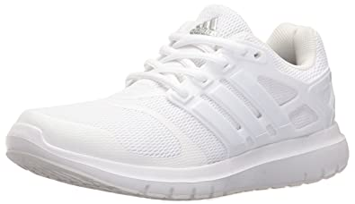 adidas Performance Women's Energy Cloud V Running-Shoes,  White/White/Crystal White