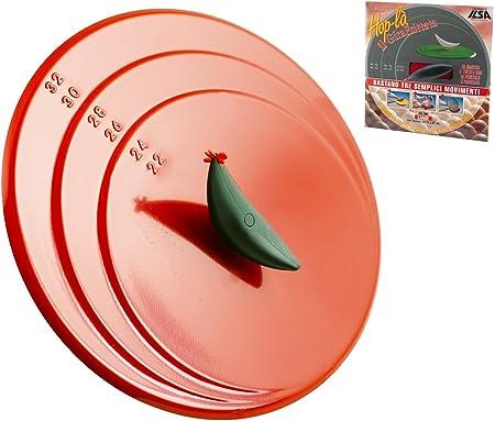 - Ilsa - Hop-là. Tapadera para girar tortillas, fabricada en aluminio antiadherente. Diámetro: 32 cm
