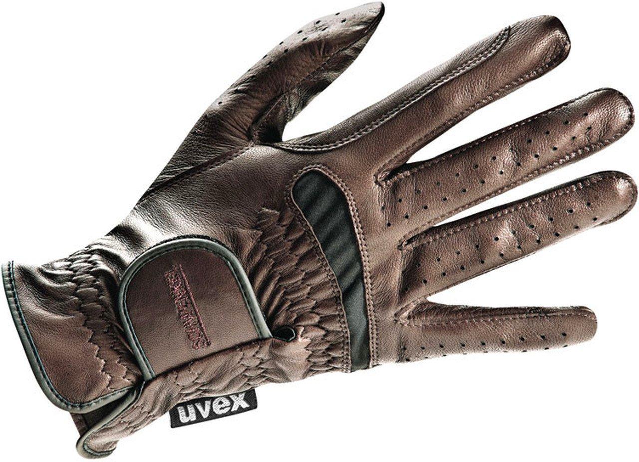 Uvex Twinflex Riding Gloves 7 ブラウン B00W0L4KEE