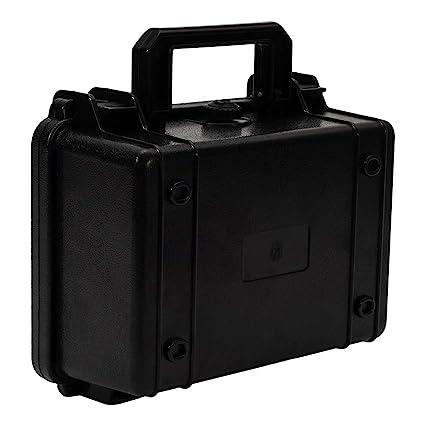 BRAUTO Vacía Caja de Herramientas Plastico con Espuma Impermeable Negro Tamaño 21.5cm*16.5cm