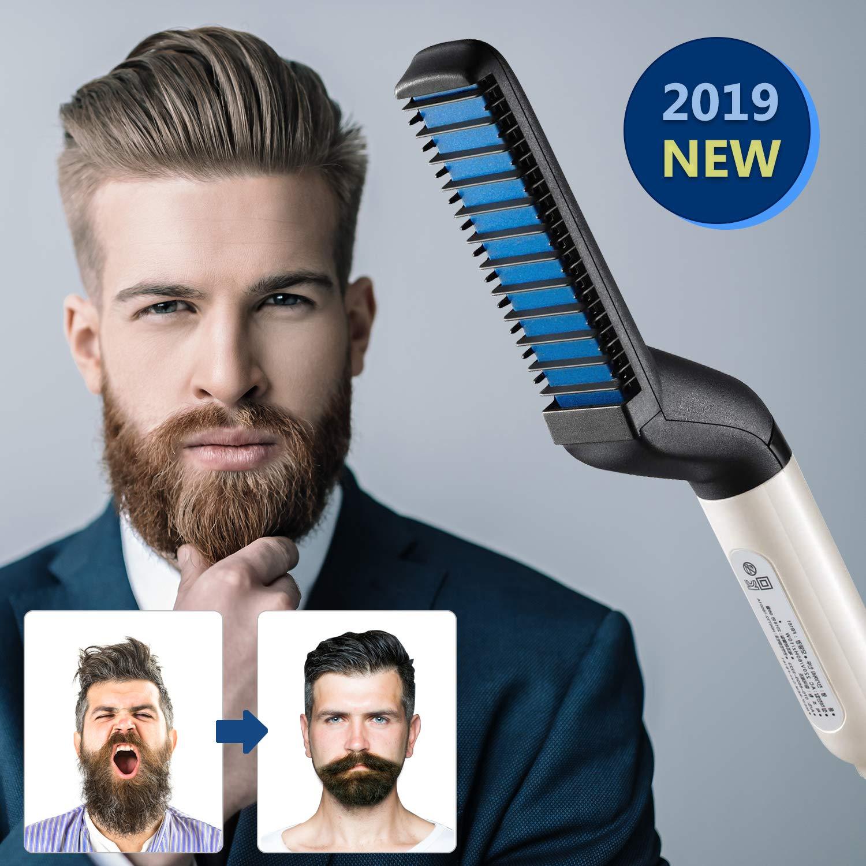 DIOVERDE Beard Straightener, Beard Straightener and Hair Straightener, Best Heat Beard Straightener and Hair Straightener Brush by Ulensy
