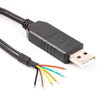 Ftdi serial adapter wiring diagram wiring diagram database amazon com ftdi chip usb to 3 3v ttl uart serial cable wire end rh amazon com usb to serial rs232 diagram usb to serial pinout diagram asfbconference2016 Choice Image