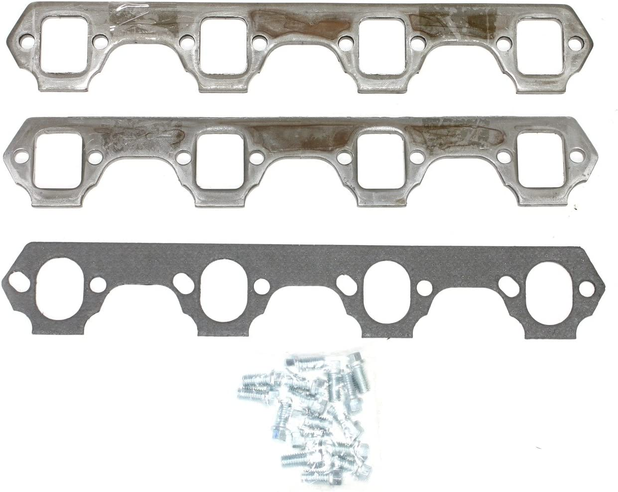 Patriot Exhaust H7842 Rectangle Header Flange for Small Block Ford