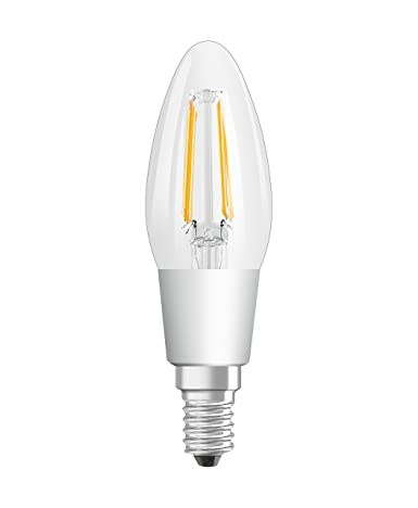 Osram 809574 Bombilla LED E14, Blanco, 6 Unidades