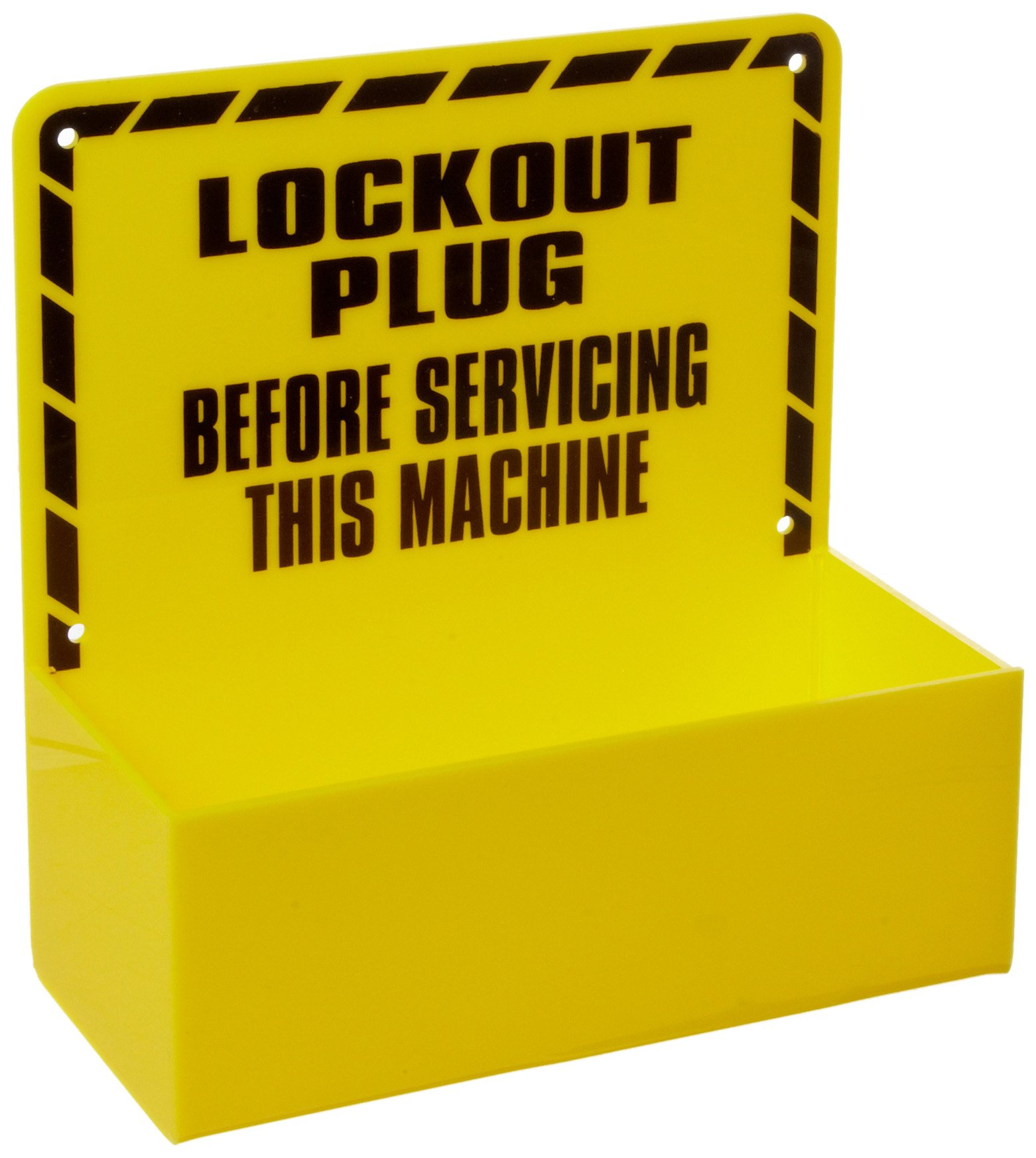 Brady Prinzing Plug Lockout Station, Legend ''Lockout Plug Before Servicing This Machine'', Includes Padlocks and Devices