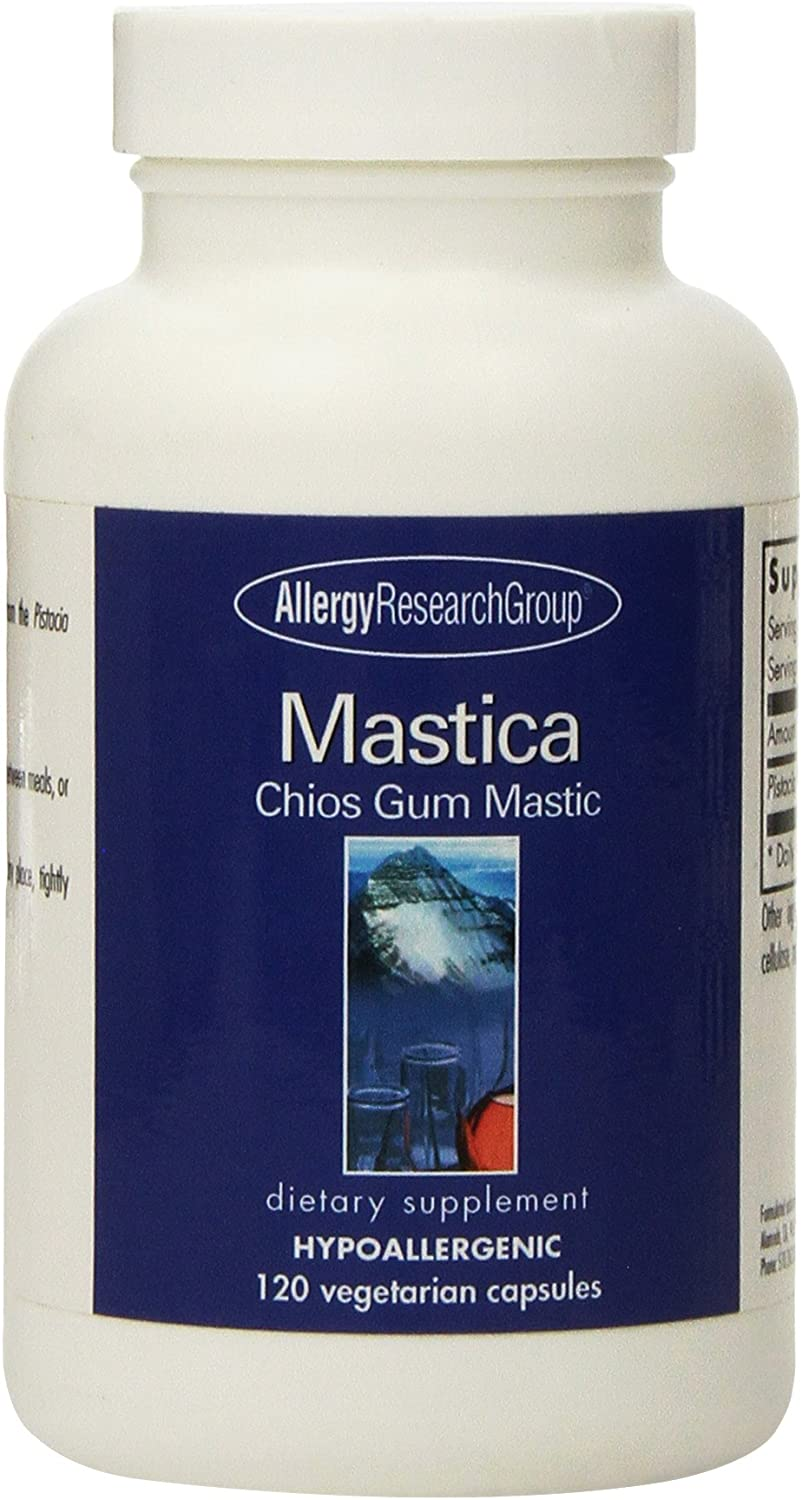 Allergy Research Group Mastica Chios Gum Mastic – 500 mg – 120 Capsules