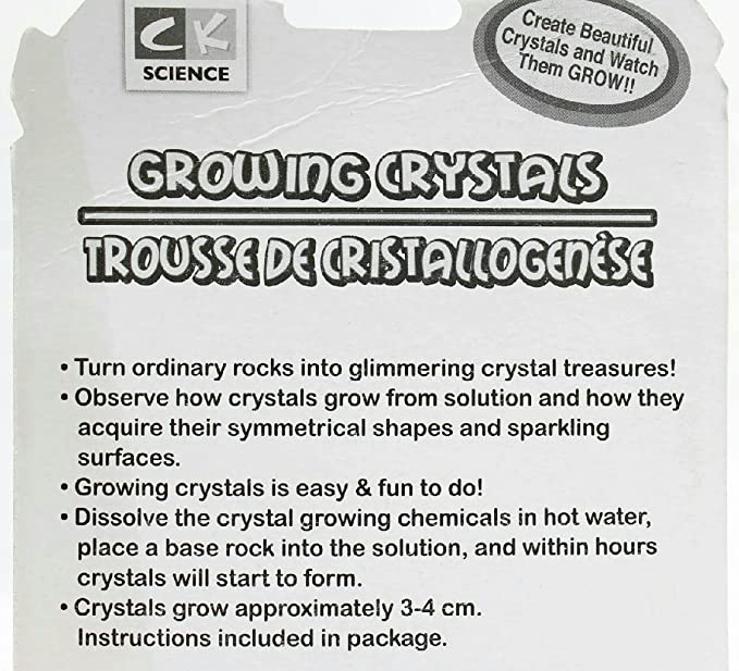 Pack Of 2 Ck Creative Kids Growing Crystals Science Kit Purple