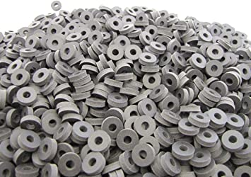 Performance Series 2 Ply Nylon Reinforced Neoprene Rubber Washers 100 1//2 OD X 3//16 ID X 1//8 Inch Thickness
