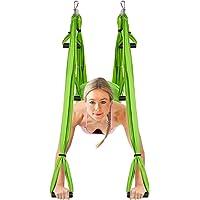 Amzdeal Aerial Yoga Flying Yoga Swing Trapeze Aerial Hammock Sling (JYSY01999)