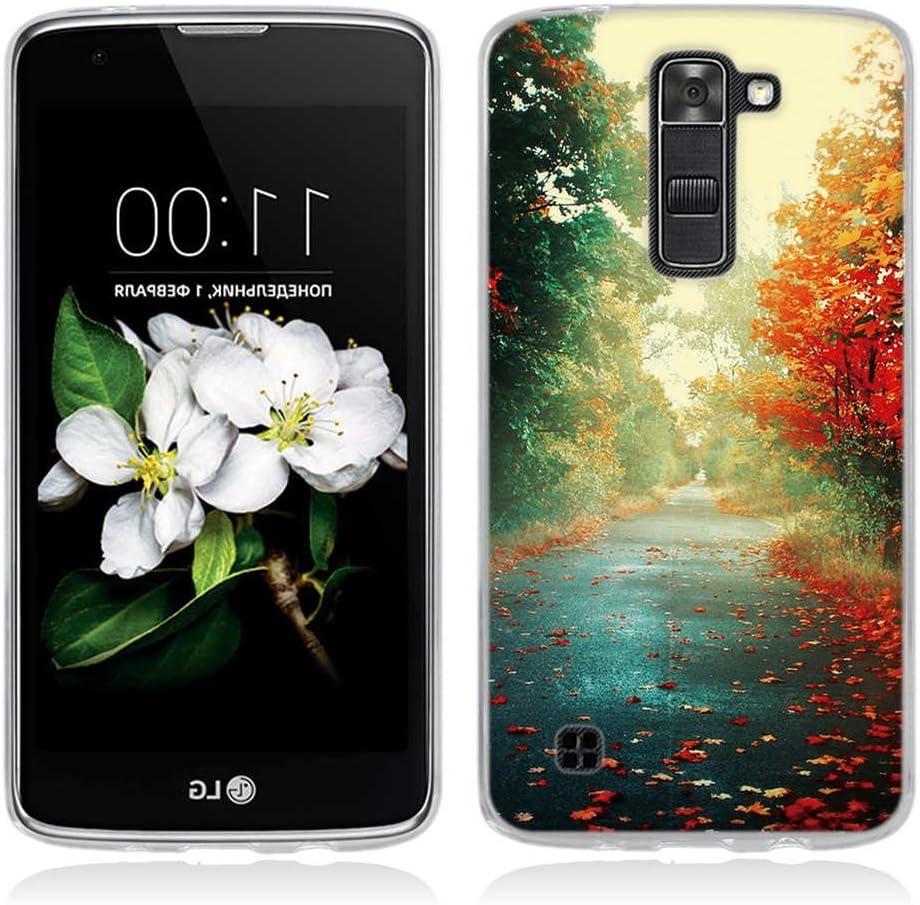 Funda LG K7,Funda LG Tribute 5-Fubaoda-Alta Calidad Serie hermosa y romántica del paisaje,funda protectora anti-golpes para LG K7/Tribute 5(LS675/X210/X210DS): Amazon.es: Electrónica