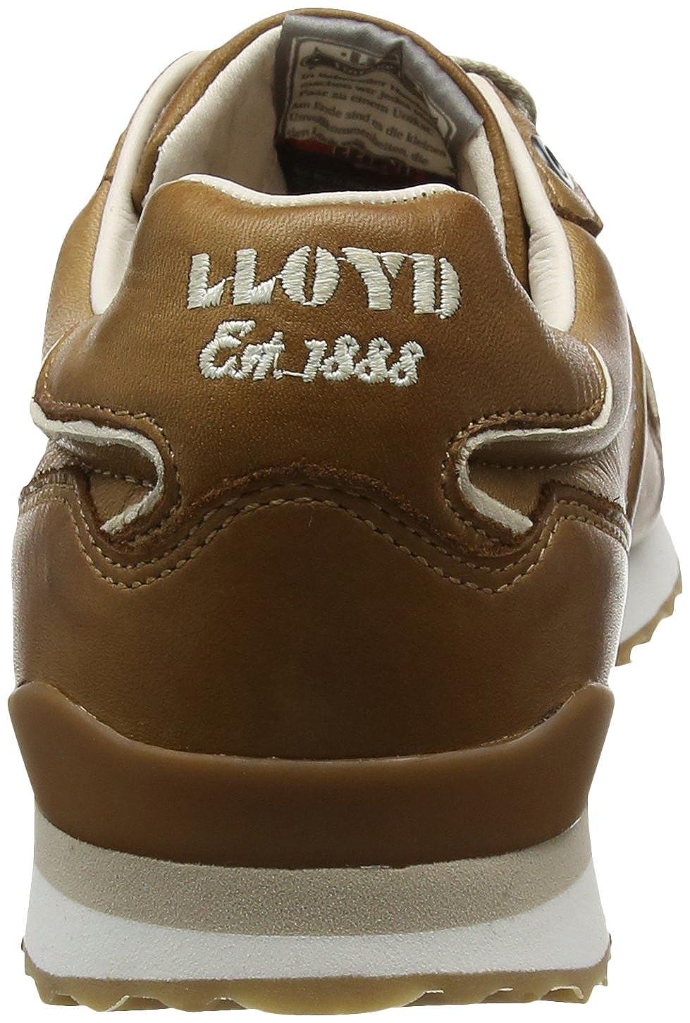 LLOYD Herrenschuh Herrenschuh Herrenschuh EDICO, sportiver Turnschuhe aus Leder mit heller Gummisohle 1ee3f5