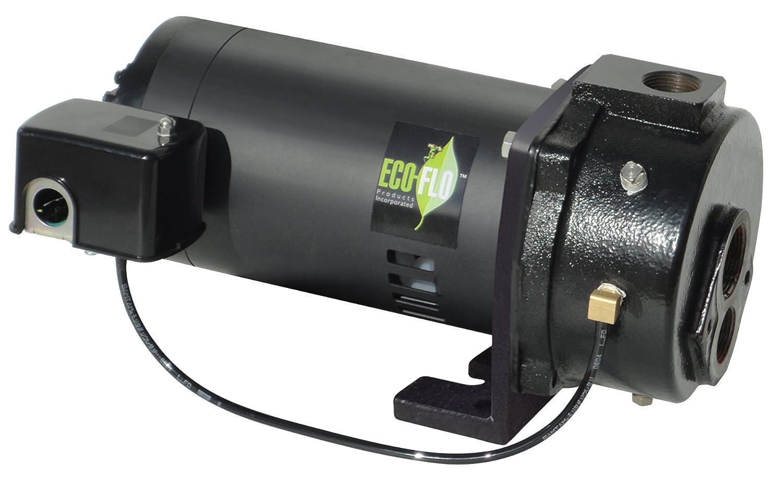 ECO-FLO Products EFCWJ10 Deep Water Well Jet Pump, 1 HP, 20 GPM